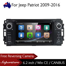 "6.2"" Car DVD GPS Navi Head Unit Stereo Radio For Jeep Patriot 2009-2016"