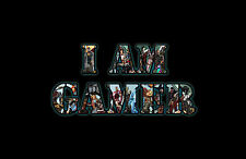 Framed Print - I AM GAMER (Gaming Picture Poster XBOX ONE PS4 Wii U Playstation)