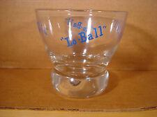 Lo Ball Eva Zeisel Retro Cocktail Glass 1960's Mid Century Modern Bar Game Room