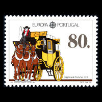 Portugal 1988 - EUROPA Stamps - Transportation and Communications - Sc 1735 MNH