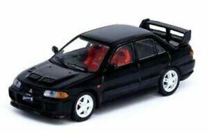 1:64 Mitsubishi Lancer Evolution III -- Black -- INNO64