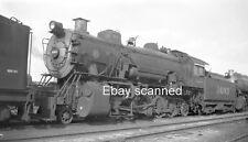 AT&SF ATSF Santa Fe Railroad Steam Engine 1603 2-10-2 Negative San Bernardino CA