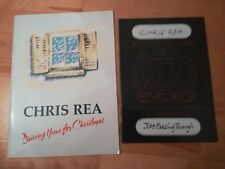 2 x Chris Rea Tour Programmes driving home for christmas & Just Passing Through