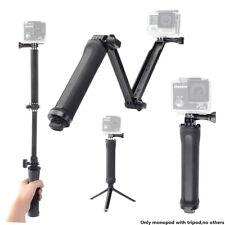 Foldable Arm Selfie Stick 3 Way Monopod Mount with Tripod For Gopro Hero Sjcam