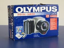 Vintage Olympus Camedia C-2500L Digital Camera - 1999 In Original Box - Working
