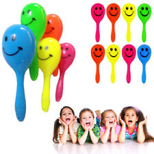 PACK OF 4 MINI MARACAS 7 CM KIDS TOY BIRTHDAY PARTY BAG FILLER US