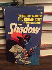 Shadow: The Crime Cult by Maxwell Grant, PB, 1975