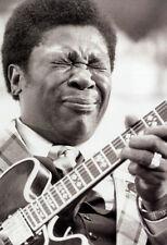 B.B. King Poster, Playing Guitar, Blues, Singer & Guitarist