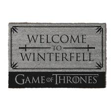 Oficial Game of Thrones casa Stark Bienvenido a Winterfell felpudo