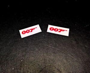 Corgi Juniors JAMES BOND 007 LOTUS ESPRIT    Set of 2 Bonnet stickers only