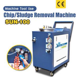 SUN-100 Chip Sludge Remove Machine For CNC Machine Tool Use With CE