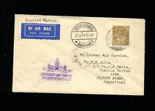 Zeppelin Sieger 254 1934 Argentina Flight Great BritainTreaty Dispatch