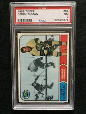 1968-69 Topps Hockey Cards #84, Gerry Ehman,  PSA 7, Really Sharp Card!!!