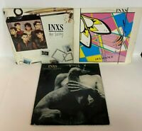 INXS Lot of 3 Record LP Vintage 80's Orig Vg+ Vinyl Dekadance Shabooh Swing