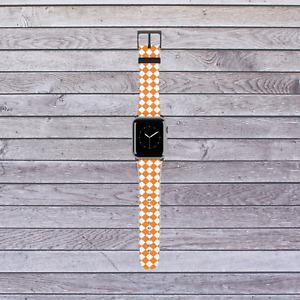 Tennessee Orange Checkerboard Apple Watch Band
