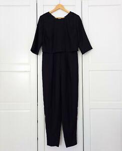 Kin John Lewis Black Jumpsuit UK12