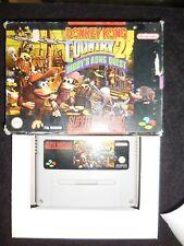 Donkey Kong Country 2 Diddy's Kong Quest juego para super nintendo usado.