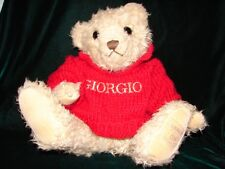 CUTE TEDDY Bear BY Giorgio Of Beverly Hills Bear ~ Collector Brown Teddy Bear