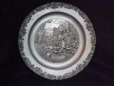 Metal wall plate ? German depicting Summer