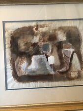 Gina Knee-Watercolor Painting 11-1/2 X 14-1/2 Framed