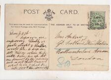 Mrs Andrew Great Scotland Yard Fire Station Northumberland Ave London 1906 430b