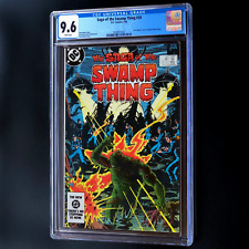 SAGA OF THE SWAMP THING #20 (1984) 💥 CGC 9.6 WP 💥 Alan Moore Storyline Begins!