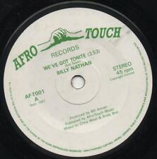 New ListingBilly Nathan - We`Ve Got Tonight c/w Dub Cut - Afro Reggae - Near Mint- Listen