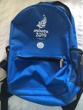 Minsk 2019 European Games Rucksack Bag Volunteers