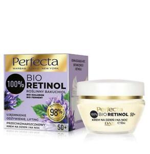 Perfecta,Dax 100% Bio Retinol 50+ Anti-wrinkle day/night cream-firming,50ml