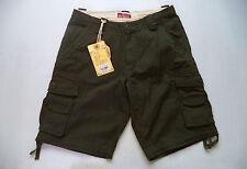 Mens Matchstick cargo shorts Sz 34 fishing golf casual campus wear leisure Nwt