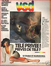 ▬►VSD 455 de 1986 MARUSCHKA DETMERS_VÉRONIQUE JANNOT_PAVAROTTI_TENNIS R.GARROS
