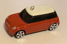 RED  Mini Cooper Custom Christmas Ornament NEW