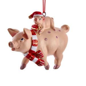 Pig & Piglet Ornament