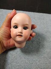 Antique ARMAND MARSEILLE German Bisque Doll Head Glass Eye Teeth 390n A 0 1/2 M