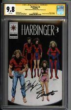* HARBINGER #6 (1992) CGC 9.8 Signed Shooter Layton Pre-Unity (1600104003) *