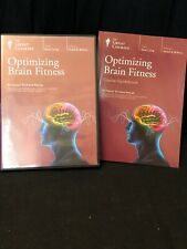"The Great Courses OPTIMIZING BRAIN FITNESS"" Richard Restak (Discs & Book)"