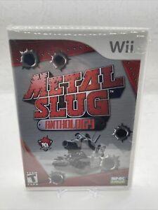 Metal Slug Anthology (Nintendo Wii, 2006) - Brand New Factory Sealed! Fast SHIP!