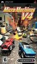 Micro Machines V4 UMD PSP GAME SONY PLAYSTATION PORTABLE