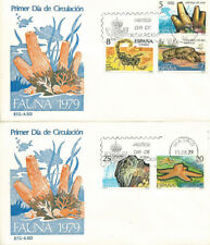 SPD FDC Primer dia Fauna Edifil# 2531/2535 1979 Invertebrados