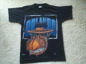 VINTAGE 1980s 1990s ORLANDO MAGIC SHIRT vtg basketball NBA Shaquille O'Neal vtg