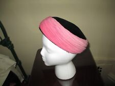 Original Vintage Designer Turban Style Pillbox Hat ~ Made in Italy!