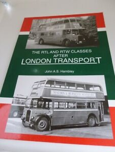Selection of 7 informative Vintage books on (public) transport and other