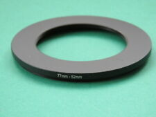 77mm-52mm Stepping Step Down Male-Female Filter Ring Adapter 77mm-52mm