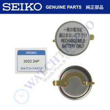 for 7M12 7M15 7M22 7M42 7M45 Seiko Kinetic Watch Capacitor Battery 302324P