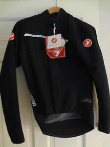 Mens Castelli Full Zip Perfetto Convertibil M Black