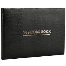 Black Visitor Book For  Business Hotels Guest Houses Reception -VBK