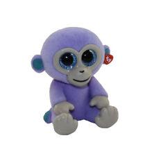 TY Beanie Boos Mini Boo Series 2 Blueberry the Purple Monkey Flocked Figure