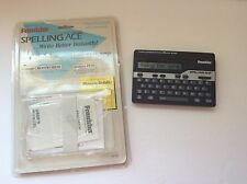 Franklin Spelling Ace Merriam Webster Electronic Handheld Sa-98