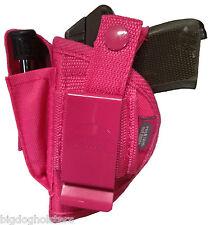 Pink Gun Holster fits Diamondback 380 Pro-Tech Outdoors Nylon OWB Part # WSB-1P