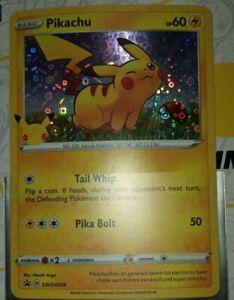 🔥25th Anniversary Stamped RARE Pikachu General Mills 🔥